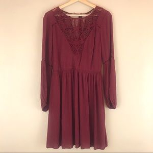 AEO Lace Detail Dress